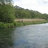 Fishing near The Mayfly.