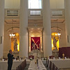 Preparing for a dinner at Mansion House, home of the Mayor of the City of London. 13 May 2016.