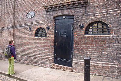 THe old local jail in Hampstead.
