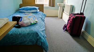 My room at Passfield Hall.