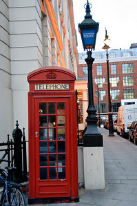 The phone outside the Ministry of Magic...