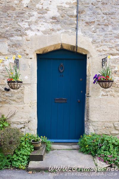 Lacock, England - Door