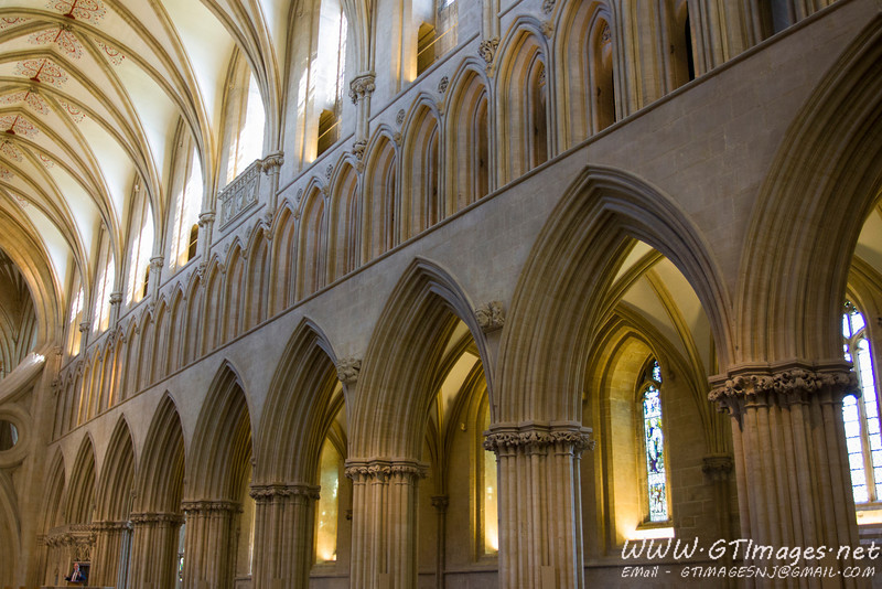 Wells Cathedral is beautiful, and immense.