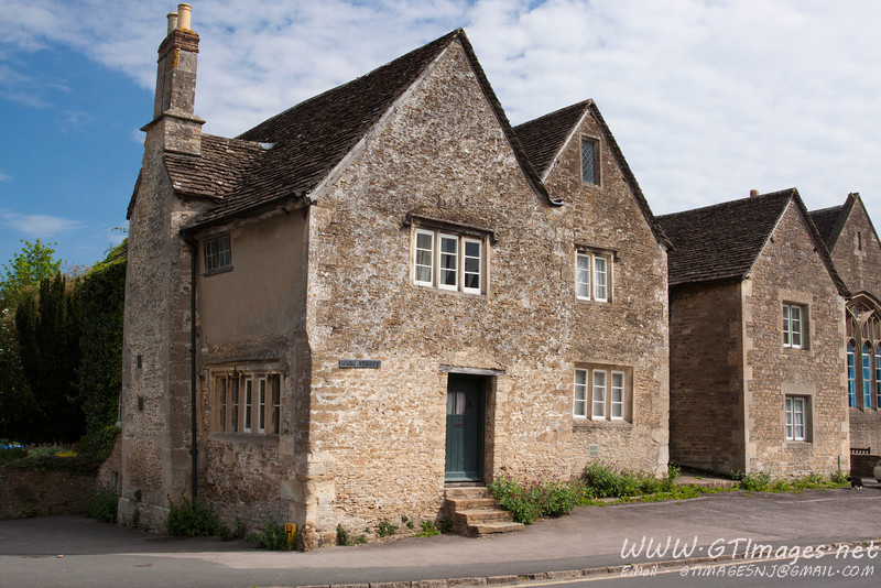 Lacock, England - a medieval village dating from the 1200's, and still an active/inhabited village...