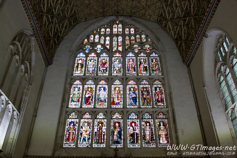 Canterbury cathedral, Chapter House...