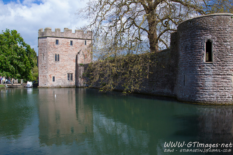 Bishop's palace...Why would a Bishop need a moat????