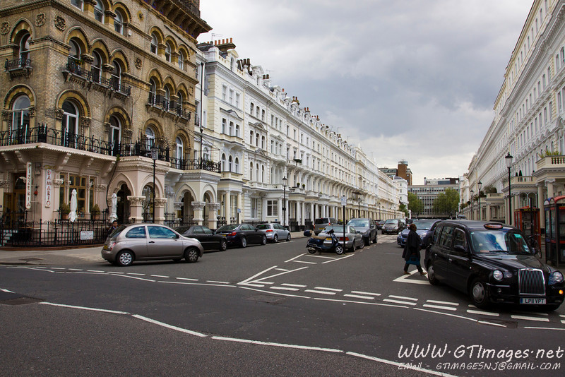 London - Kensington townhouses...