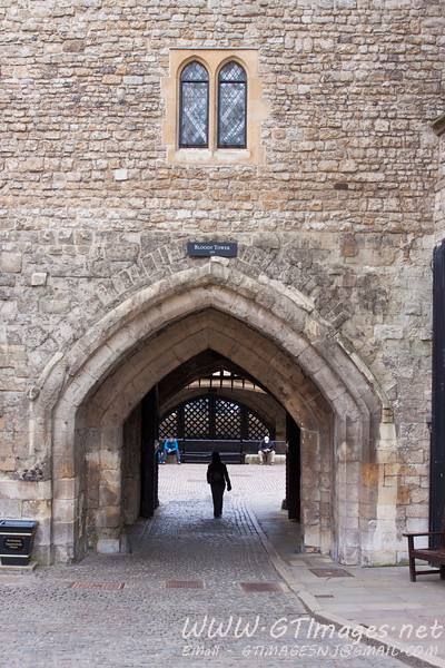 Entrance to the tower of London....