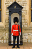Guard inside the Tower of London