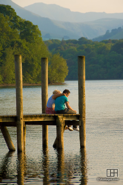 Hanging out by Derwent Water, Lakes District