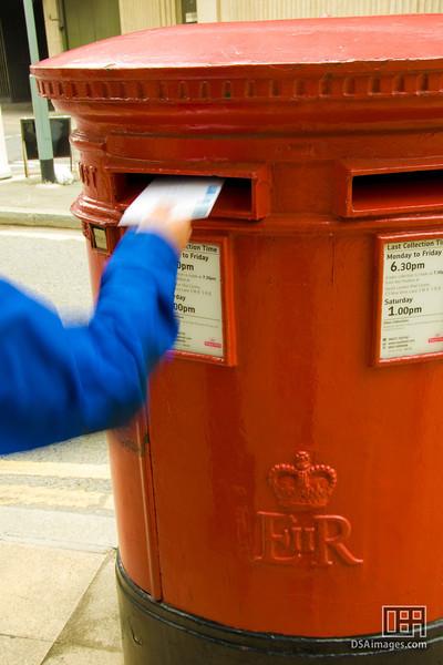 Going postal...