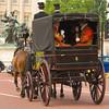 Coach on The Mall near Buckingham Palace