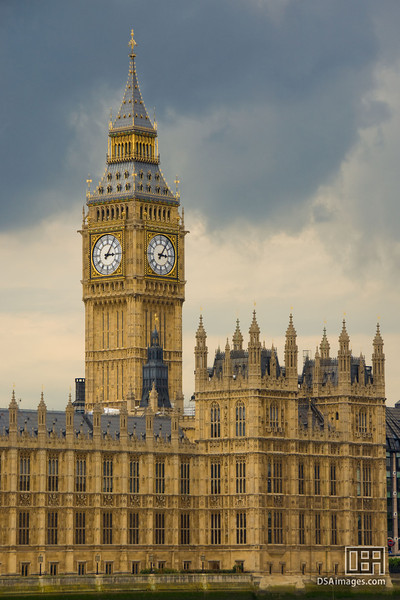 Big Ben and Westminster Hall