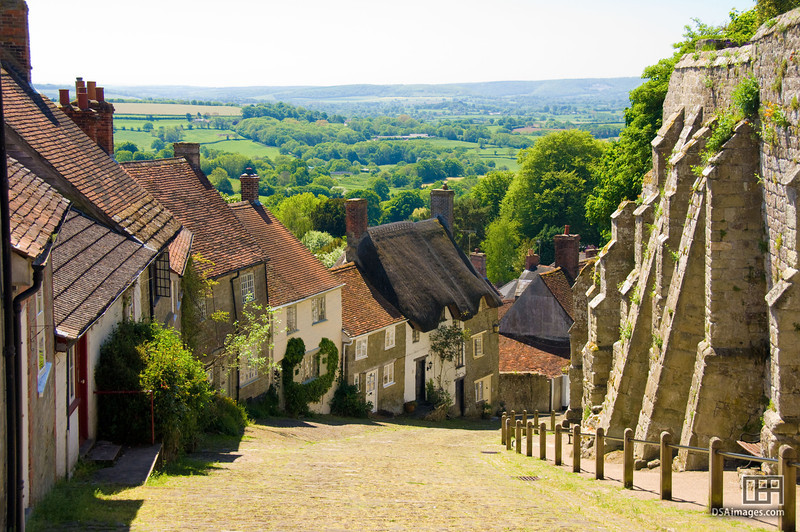 Gold Hill street at Shaftesbury
