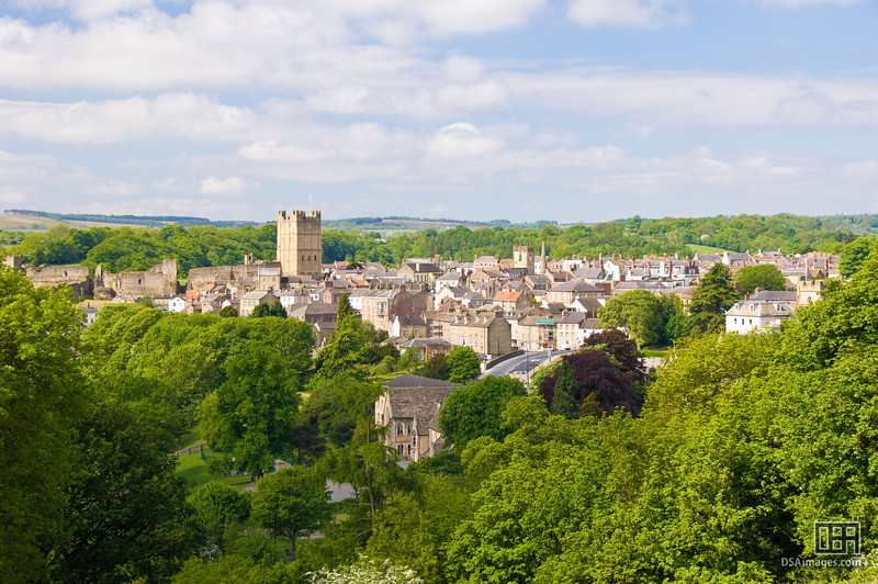 View of Richmond, North Yorkshire