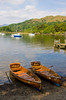 Boats on Windermere at Ambleside, Lake District