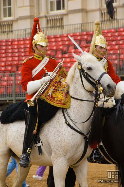 The changing of the Horse Guards
