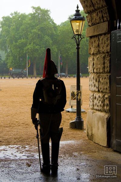 Guard at the Horse Guards