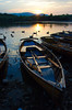 Boats on Derwent Water, Lakes District