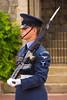 Guard inside Windsor Castle