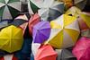 Umbrella, outside Channel 4