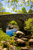 Old bridge at Dartmeet, Dartmoor National Park