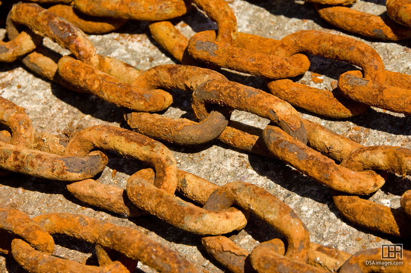 Chains near St Just in Roseland
