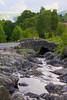 Old bridge near Derwent Water, Lake District