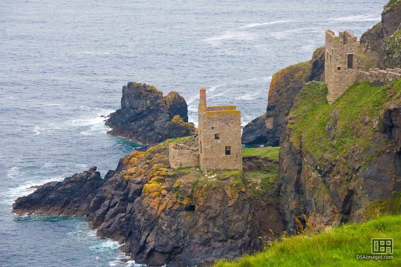 Old buildings at Dr Syntax's Head, Land's End, Cornwall