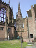 "Bombed out Coventry Cathedral.<br />  <a href=""http://www.coventrycathedral.org.uk"">http://www.coventrycathedral.org.uk</a>"