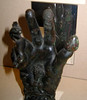 Hand of Sabazius (focus on mirror), British Museum, 28 Apr 2005