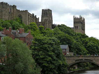 Durham Cathedral and Castle from the North side of the River Wear