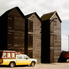 <p>Fishing Huts, Hastings, England, United Kingdom</p>