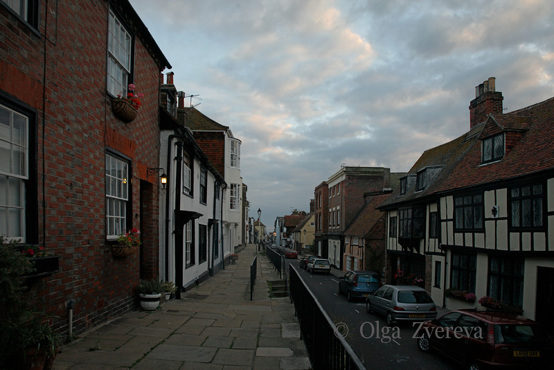 <p>Evening at Old Town. Hastings, England, United Kingdom</p>