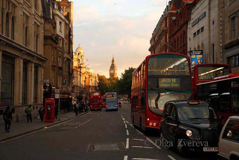 <p>Big Ben View from Trafalgar Square. London, England, United Kingdom</p>