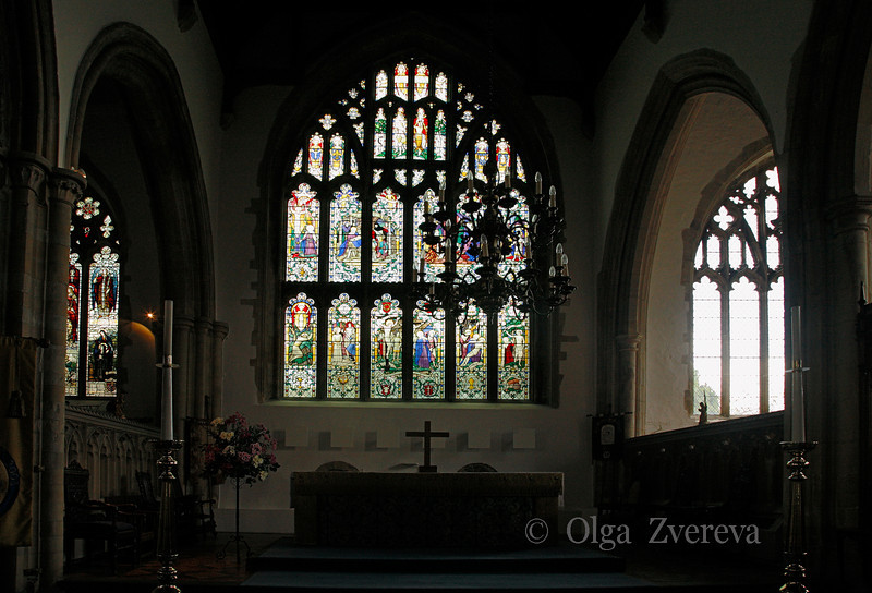 <p>Inside of the Church of St Mary the Virgin. Rye, England, United Kingdom</p>
