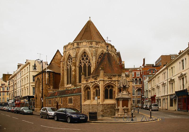 <p>Holy Trinity Church at Morning. Hastings, England, United Kingdom</p>