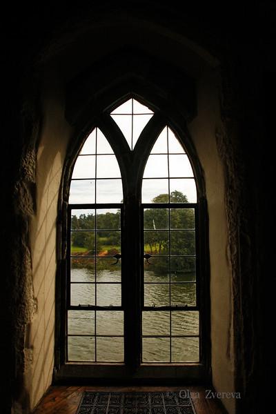 <p>Window View, Leeds Castle, England, United Kingdom</p>