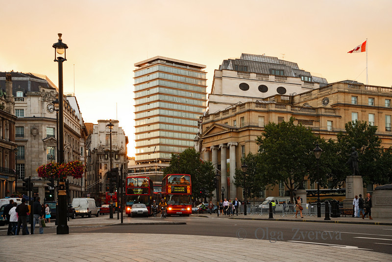 <p>View from Trafalgar Square. London, England, United Kingdom</p>