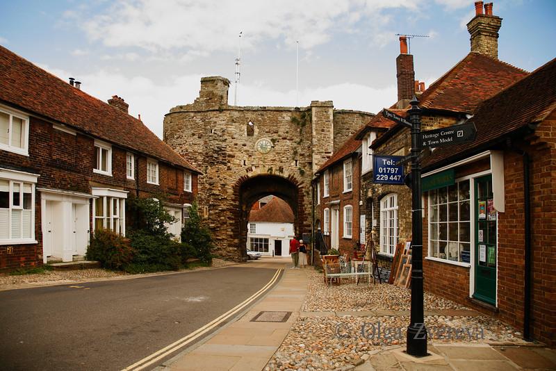 <p>Town Gate, Rye, England, United Kingdom</p>
