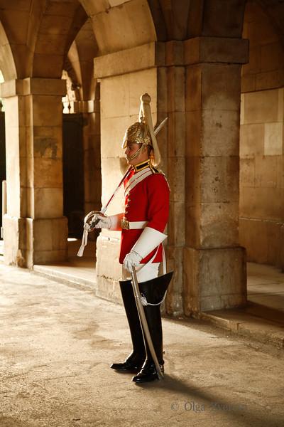 <p>Guard, London, England, United Kingdom</p>