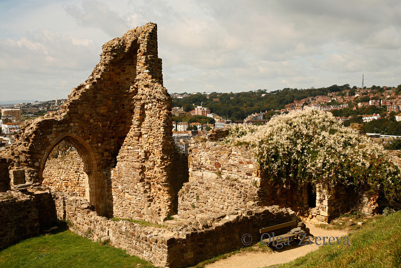 <p>Hastings Castle. Hastings, England, United Kingdom</p>