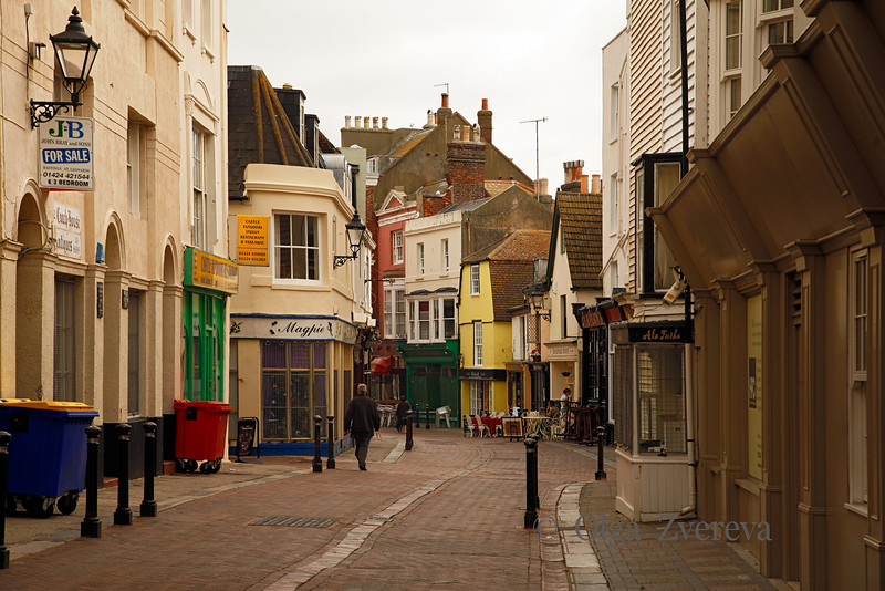 <p>Town Center at Morning. Hastings, England, United Kingdom</p>