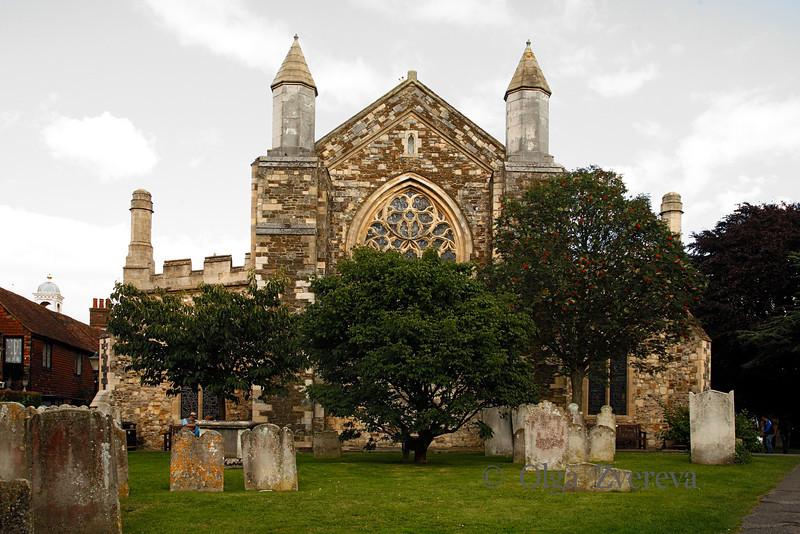 <p>The Church of St Mary the Virgin. Rye, England, United Kingdom</p>