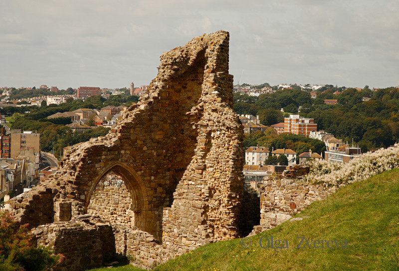<p>Hastings Castle. Hastings, England, United Kingdom</p>