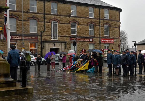 VE Day commemoration, Carnforth, Fri 8 May 2015 2