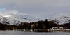 Waterhead & Fairfield horseshoe from Windermere,  23 January 2009