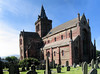 Exterior of St. Magnus Cathedral from  southeast. This is a panorama that Paul made.