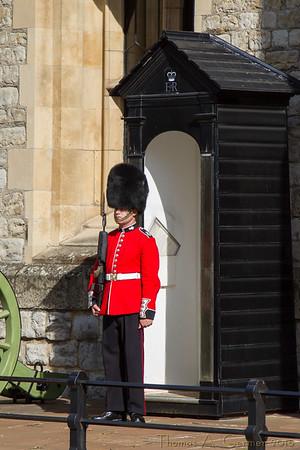 Palace Guard at Tower of London