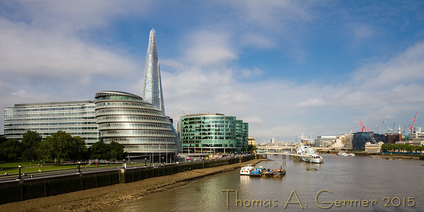 The Shard and the Thames